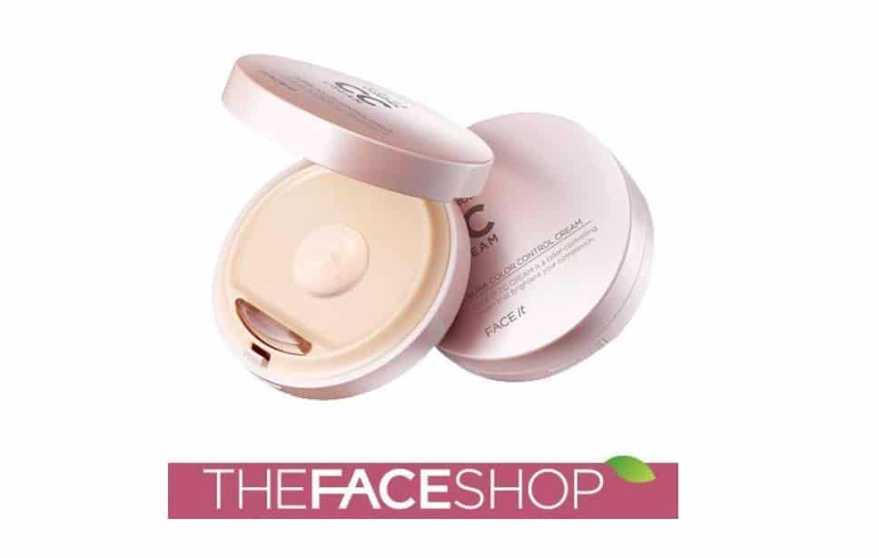 THE FACE SHOP アウラ カラーコントロール CCクリーム